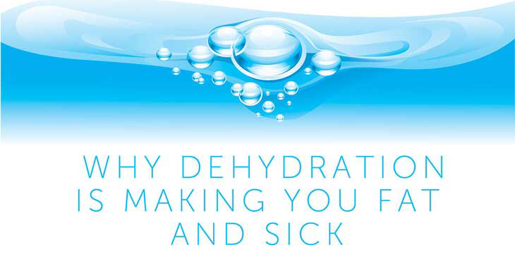 11 Ways Dehydration is Making You Fat and Sick [INFOGRAPHIC]
